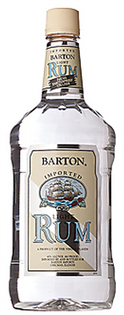 Barton Rum Light 1.00l - Case of 12